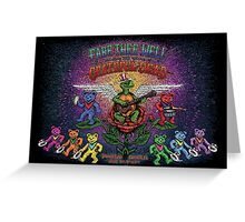 Grateful Dead - Fare Thee Well - 50 years (number 5) Greeting Card