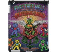 Grateful Dead - Fare Thee Well - 50 years (number 5) iPad Case/Skin