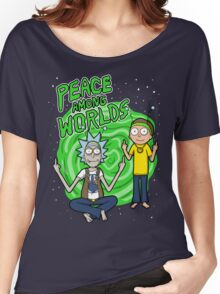 Peace Among Worlds Women's Relaxed Fit T-Shirt