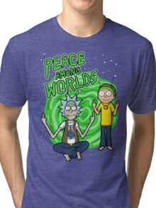 Peace Among Worlds Tri-blend T-Shirt