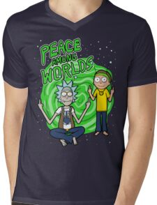 Peace Among Worlds Mens V-Neck T-Shirt