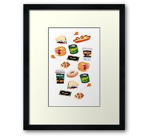 You Stuffed Your Face! Framed Print