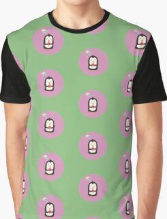 Penguin with melon   Graphic T-Shirt