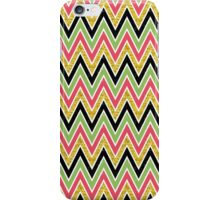 Gold glitter chevron iPhone Case/Skin