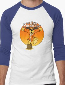 The Kung Phooey Guy. Men's Baseball ¾ T-Shirt