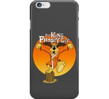 The Kung Phooey Guy. iPhone Case/Skin