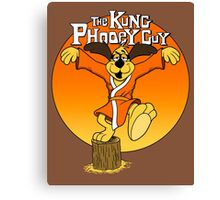 The Kung Phooey Guy. Canvas Print