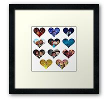 Hearts of Magic Framed Print