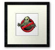 Elder God Buster Framed Print