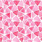 Pink triangles by DariaNK