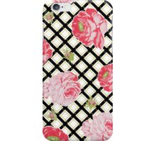 Boho style pink roses iPhone Case/Skin