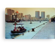 Dubai Creek #01 Canvas Print