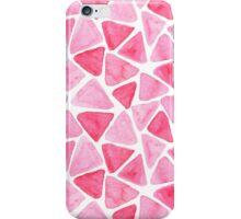 Pink triangles iPhone Case/Skin