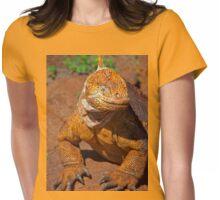 Ecuador. Galapagos Islands. Galapagos Land Iguana. Smile. Womens Fitted T-Shirt