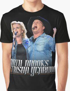 TOUR MUSIC GARTH BROOKS Graphic T-Shirt