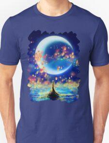 Starry Night Mermaid Unisex T-Shirt