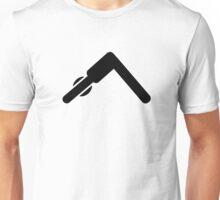 Pilates Yoga symbol Unisex T-Shirt