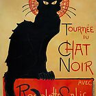 'Tournee du Chat Noir' by Theophile Steinlen (Reproduction) by Roz Barron Abellera