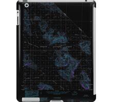 USGS TOPO Map Alaska AK Yakutat C-2 360493 1985 63360 Inverted iPad Case/Skin
