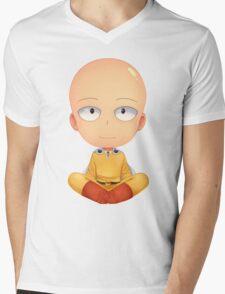 saitama zen one man punch Mens V-Neck T-Shirt