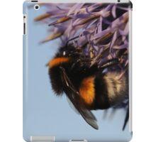 bumblebee, macro iPad Case/Skin
