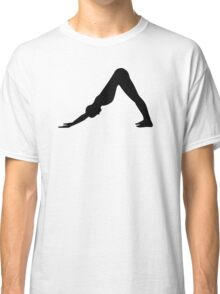 Yoga Pilates girl Classic T-Shirt