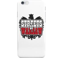 Streets of Warsaw iPhone Case/Skin