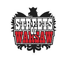 Streets of Warsaw Photographic Print