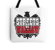 Streets of Warsaw Tote Bag