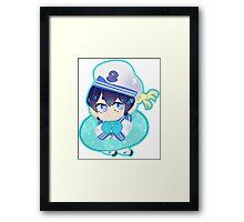 Free! Iwatobi Swim Club || Haruka Nanase Framed Print