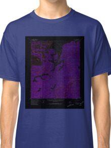 USGS TOPO Map Alaska AK Ruby D-2 358617 1952 63360 Inverted Classic T-Shirt