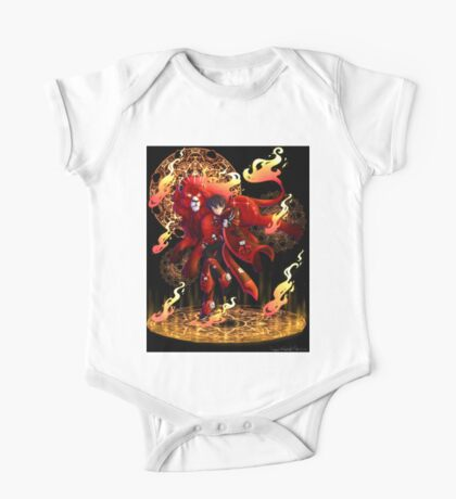 Kieth | Red Paladin of Fire | Aries One Piece - Short Sleeve
