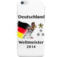 Deutschland Weltmeister 2014 (Germany World Champions 2014) iPhone Case/Skin