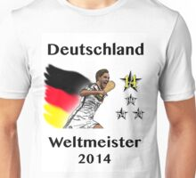 Deutschland Weltmeister 2014 (Germany World Champions 2014) Unisex T-Shirt