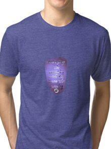 Don't Judge The Screaming 19 Tri-blend T-Shirt