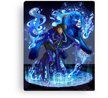 Lance | Blue Paladin of Water | Cancer Canvas Print