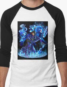 Lance | Blue Paladin of Water | Cancer Men's Baseball ¾ T-Shirt