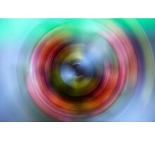Rainbow Eye Photographic Print