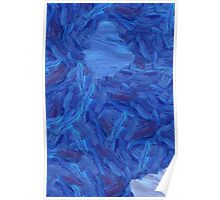 An abstract Brush Strokes design Poster