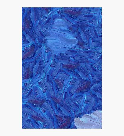 An abstract Brush Strokes design Photographic Print