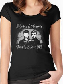 Always&Forever. Family Above All. The Originals. Women's Fitted Scoop T-Shirt