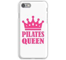 Pilates queen crown iPhone Case/Skin
