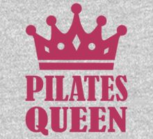 Pilates queen crown One Piece - Short Sleeve