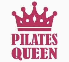 Pilates queen crown Kids Tee