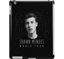 WORLD TOUR MUSIC 2016 MENDES iPad Case/Skin