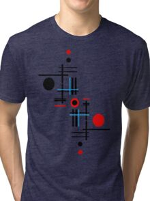Red & Black Sky Tri-blend T-Shirt