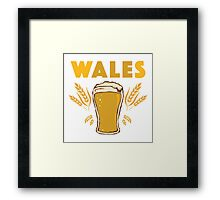 Wales Framed Print