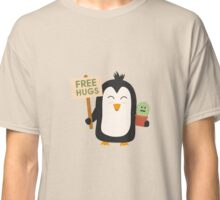 Penguin with Cactus   Classic T-Shirt