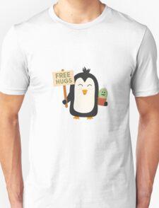 Penguin with Cactus   Unisex T-Shirt