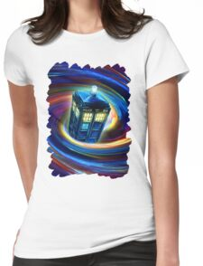Time Vortex Womens Fitted T-Shirt